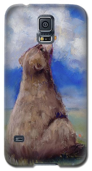 Bear And Butterfly Galaxy S5 Case by Billie Colson