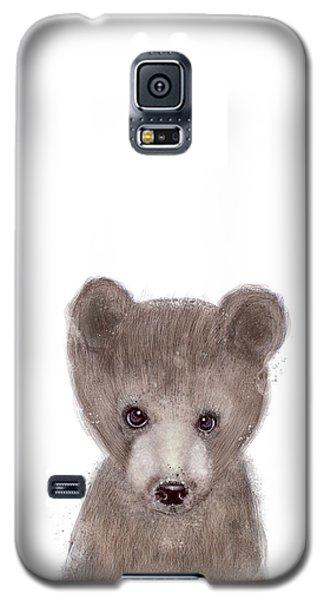Brown Bear Galaxy S5 Case - Bear by Bleu Bri