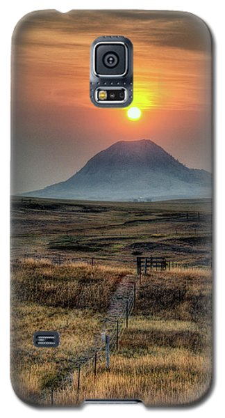 Bear Butte Smoke Galaxy S5 Case