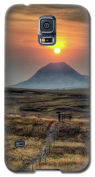 Bear Butte Smoke Galaxy S5 Case