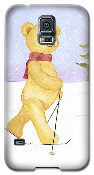 Galaxy S5 Case featuring the painting Bear by Elizabeth Lock