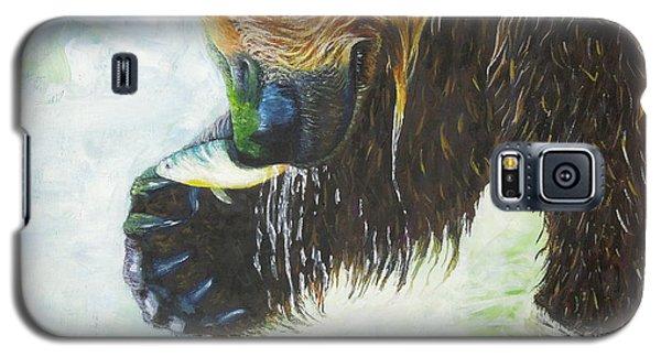 Bear Fishing Galaxy S5 Case