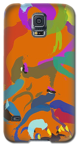 Galaxy S5 Case featuring the painting Bear  by Go Van Kampen