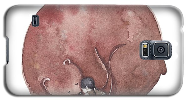 Bear Hug Galaxy S5 Case by Soosh
