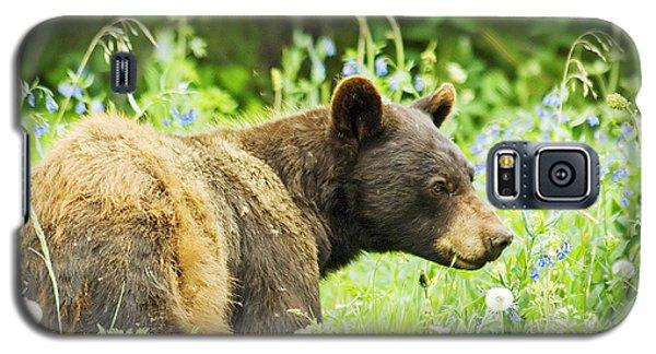 Bear In Flowers Galaxy S5 Case