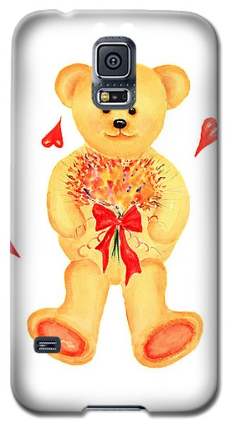 Bear In Love Galaxy S5 Case