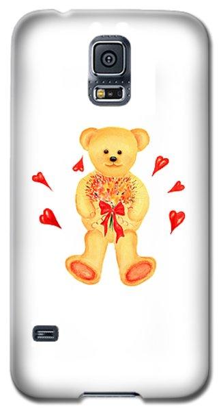 Bear In Love Galaxy S5 Case by Elizabeth Lock