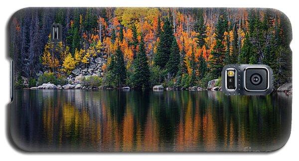 Bear Lake Autumn Galaxy S5 Case