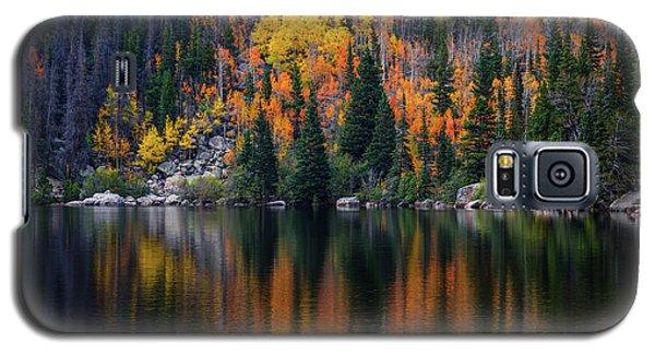 Bear Lake Autumn Reflections Galaxy S5 Case