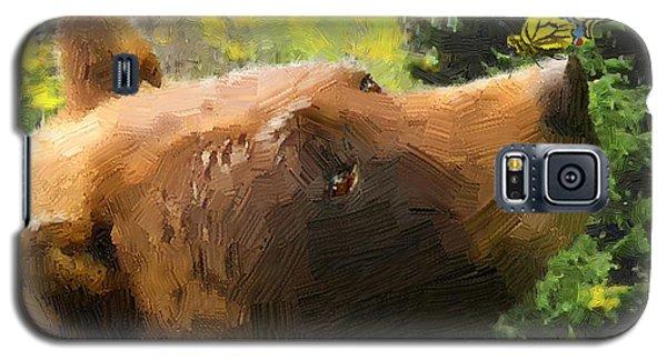 Bear - N - Butterfly Effect Galaxy S5 Case by Doug Kreuger