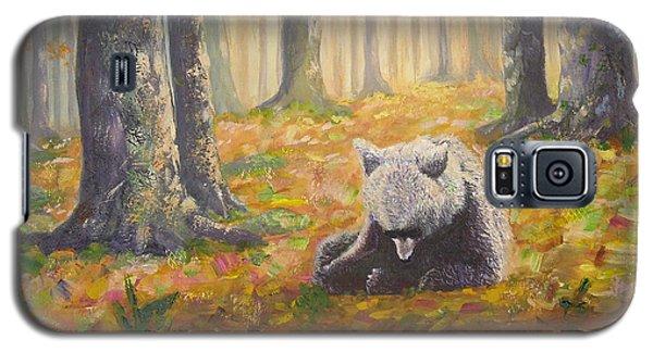 Bear Reflecting Galaxy S5 Case