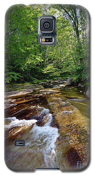 Galaxy S5 Case featuring the photograph Bear River, Newry, Maine #10045 by John Bald