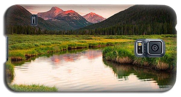 Bear River Sunset Galaxy S5 Case