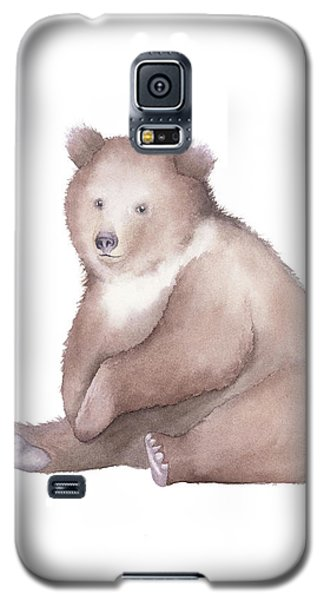 Bear Watercolor Galaxy S5 Case