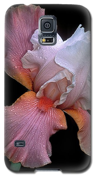 Bearded Iris Galaxy S5 Case