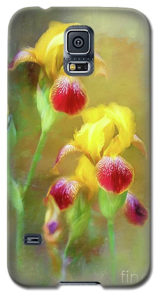 Bearded Iris Pair Galaxy S5 Case