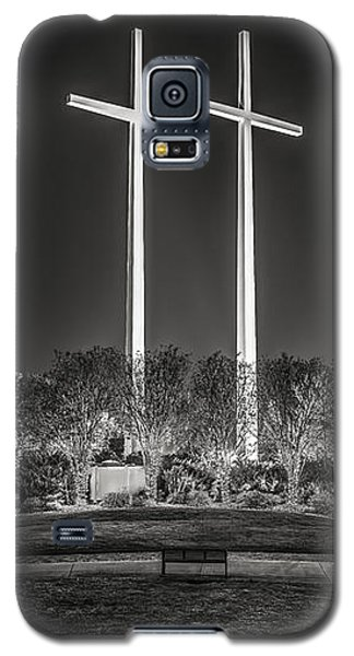 Bearing Witness In Black-and-white 2 Galaxy S5 Case