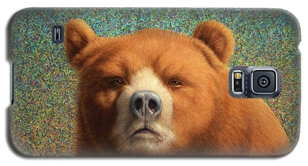 Bearish Galaxy S5 Case by James W Johnson