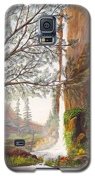 Bears At Waterfall Galaxy S5 Case
