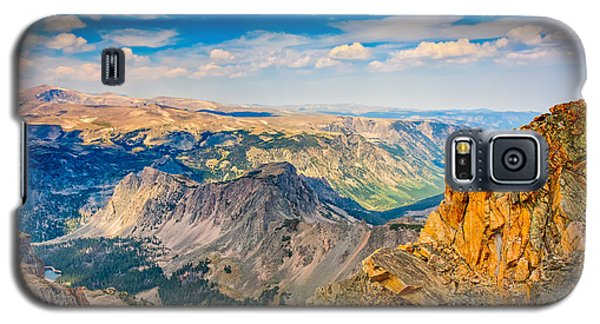 Galaxy S5 Case featuring the photograph Beartooth Highway Scenic View by John M Bailey