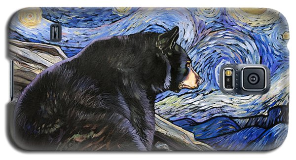 Beary Starry Nights Galaxy S5 Case