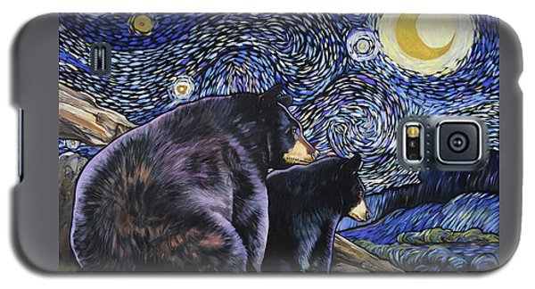 Beary Starry Nights Too Galaxy S5 Case