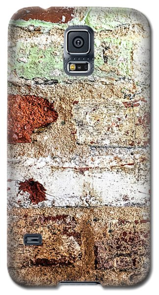 Galaxy S5 Case featuring the photograph Beaten Brick Wall by Andrew Soundarajan