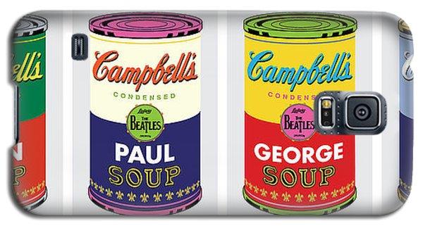 Beatle Soup Cans Galaxy S5 Case