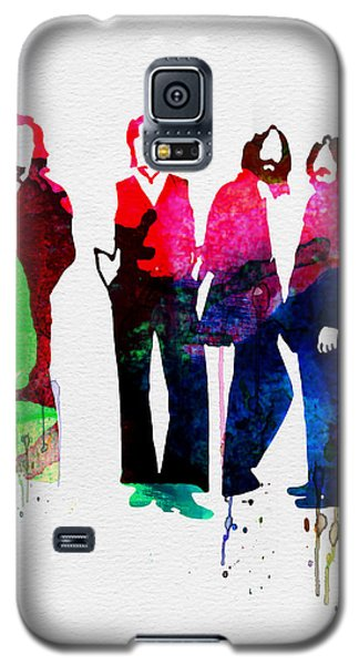 Musicians Galaxy S5 Case - Beatles Watercolor by Naxart Studio
