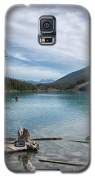 Beauiful Lake Maligne Galaxy S5 Case by Patricia Hofmeester