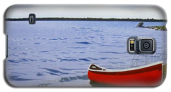 Beautiful Red Canoe Galaxy S5 Case