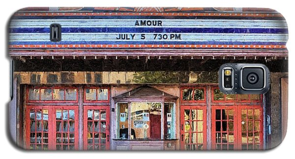 Galaxy S5 Case featuring the digital art Beaumont Jefferson Theater by JC Findley