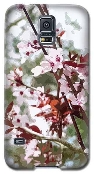 Beautiful Almond Blossoms Galaxy S5 Case