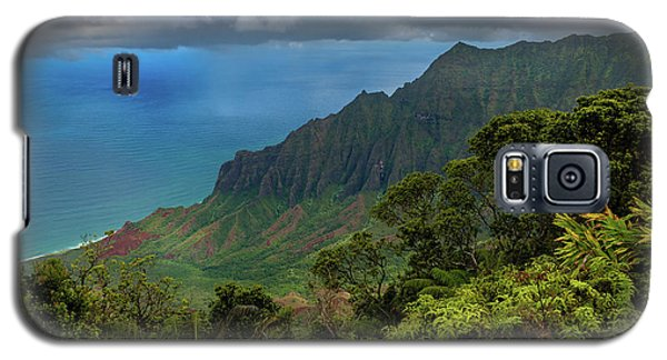 Beautiful And Illusive Kalalau Valley Galaxy S5 Case