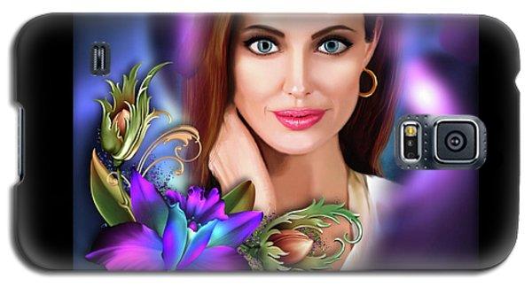 Beautiful Angie Galaxy S5 Case