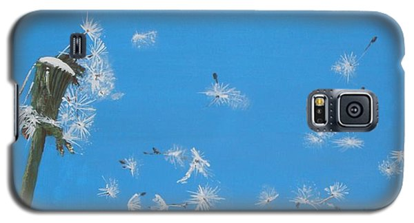 Galaxy S5 Case featuring the painting Beautiful At This Moment.... by Betty-Anne McDonald