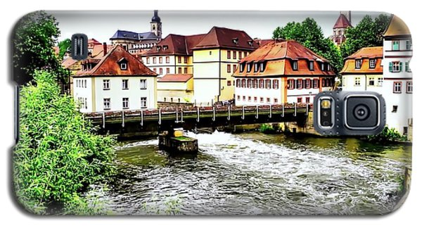 Beautiful Bamberg On The River Galaxy S5 Case