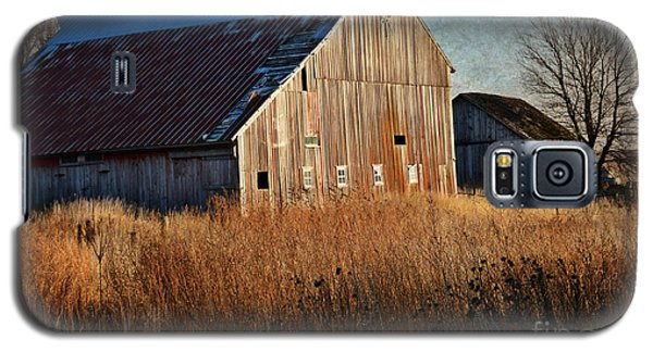 Beautiful Barn In Autumn  Galaxy S5 Case