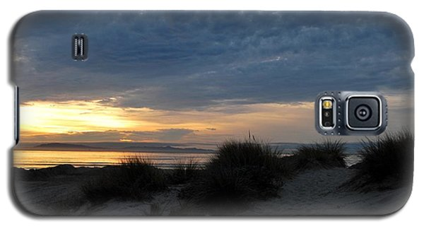 Beautiful Beach San Dunes Sunset And Clouds Galaxy S5 Case