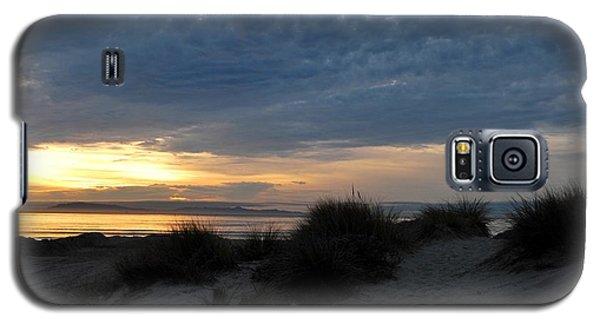 Beautiful Beach San Dunes Sunset And Clouds Galaxy S5 Case by Matt Harang