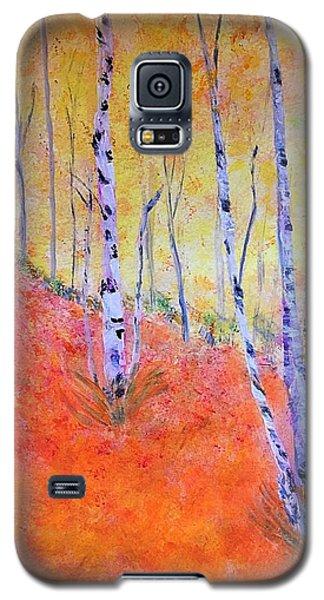 Beautiful Birches Galaxy S5 Case