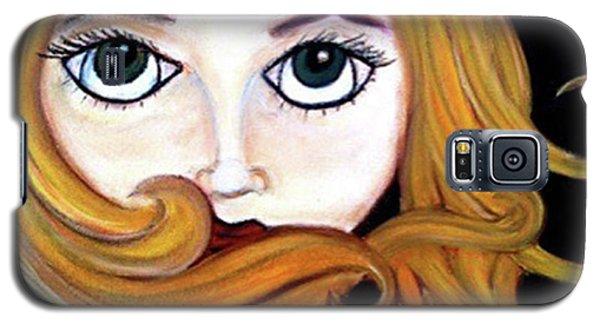 Beautiful Blonde Galaxy S5 Case