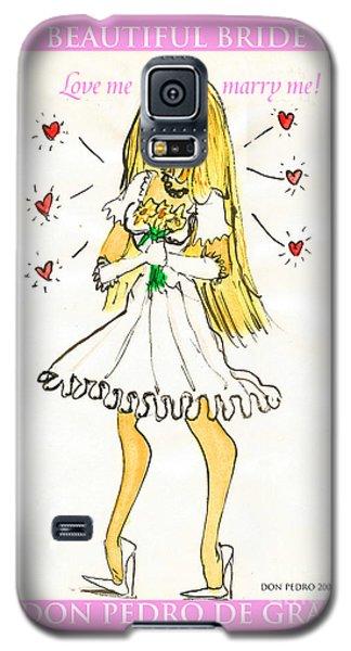 Beautiful Bride Galaxy S5 Case by Don Pedro De Gracia