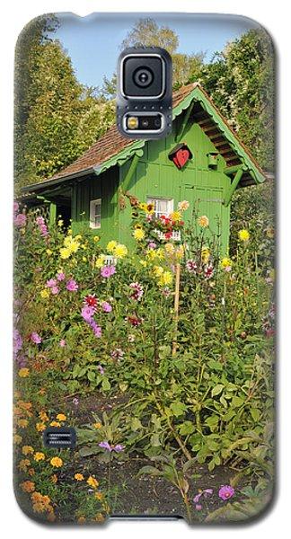 Beautiful Colorful Flower Garden Galaxy S5 Case by Matthias Hauser