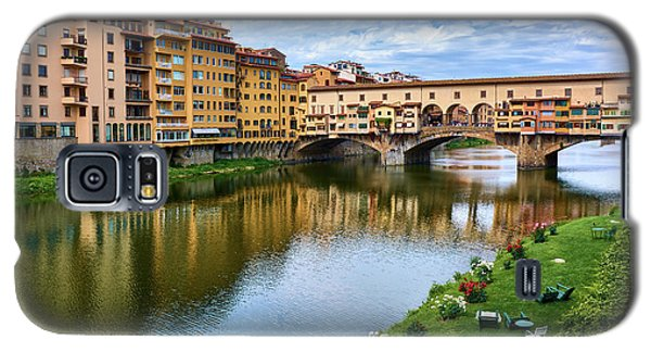 Ponte Vecchio On A Spring Day In Florence, Italy Galaxy S5 Case