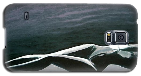 Galaxy S5 Case featuring the painting Beautiful Diver by Jarmo Korhonen aka Jarko