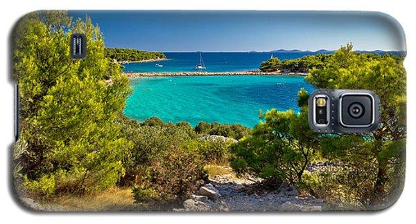 Beautiful Emerald Beach On Murter Island Galaxy S5 Case