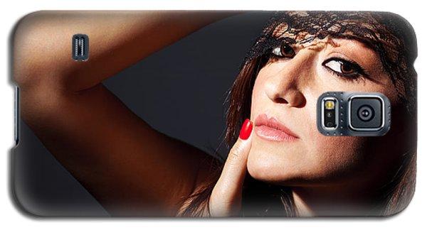 Beautiful Glamor Female Portrait Galaxy S5 Case