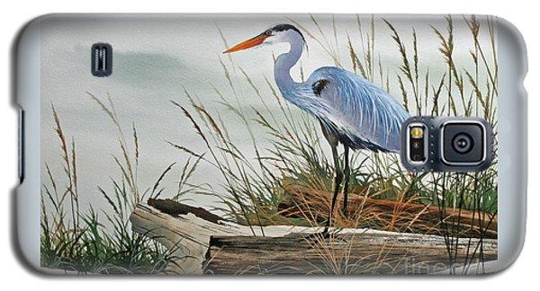 Beautiful Heron Shore Galaxy S5 Case