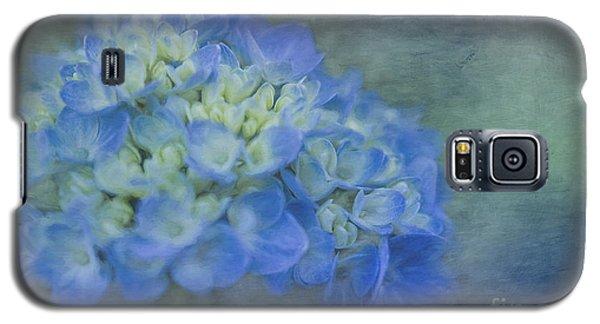 Beautiful In Blue Galaxy S5 Case by Linda Blair